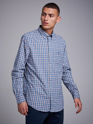 Gant Campus Oxford Check Reg Bd Salty Sea