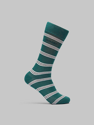 Strumpor - Gant Regimental Stripe Socks June Bug Green