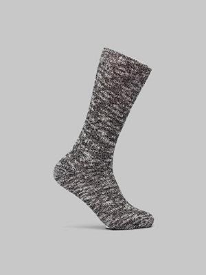 Strumpor - Birkenstock Cotton Slub Men Black Grey