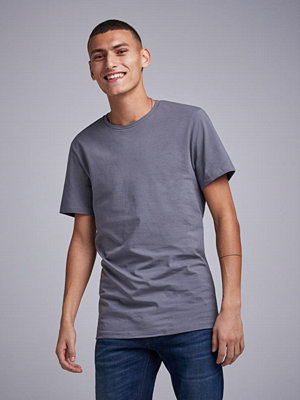 T-shirts - Bread & Boxers Crew Neck Tee Steel Grey