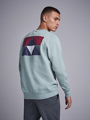 Tröjor & cardigans - Uniforms For The Dedicated Crewneck Sweat Meadow Green Print