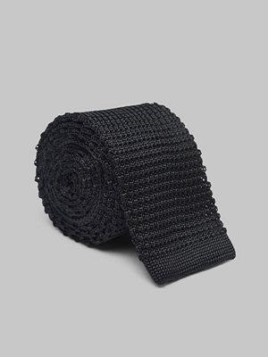 Slipsar - Amanda Christensen Knitted Tie 6 cm Black