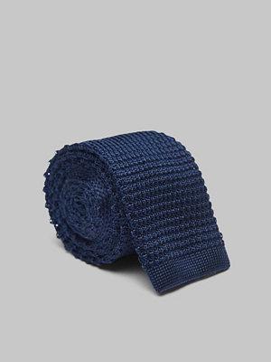 Slipsar - Amanda Christensen Knitted Tie 6 cm Navy