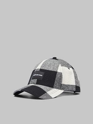 Calvin Klein Check Cap 910 Black & White Check