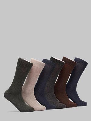 Strumpor - Topeco 6-pack Bamboo Melange Socks Multi