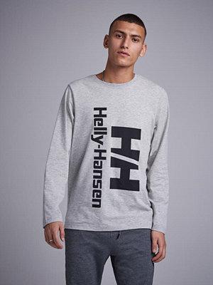 Tröjor & cardigans - Helly Hansen HH Heritage LS Crewneck Grey Melange