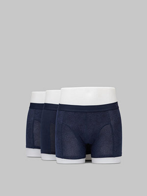 Topeco 3-pack Cotton Boxer Navy Multi