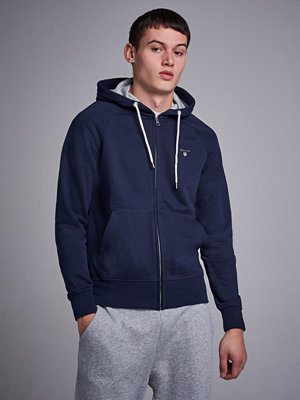 Gant Gant Original Full Zip Sweat Hoodie Evening Blue