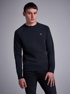 Tröjor & cardigans - Gant Gant Original C-Neck Sweat Black