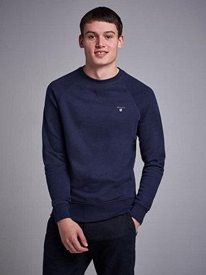 Tröjor & cardigans - Gant Gant Original C-Neck Sweat Evening Blue
