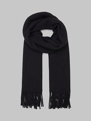Halsdukar & scarves - State of WOW Prato Wool Scarf 0099 Black