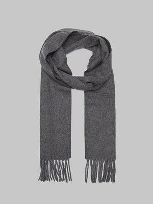 Halsdukar & scarves - Filippa K Cashmere Scarf Dark Grey Melange