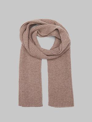 Halsdukar & scarves - Gant Wool Knit Scarf Desert Brown