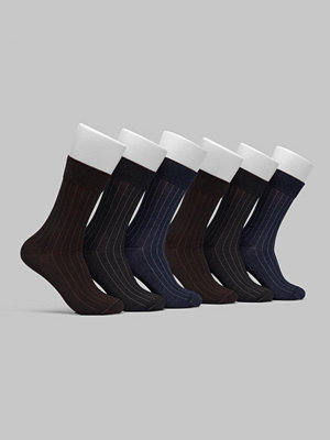 Topeco 6-pack Mercerized Cotton Socks Multi