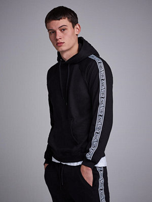Studio Total Oliver Tape Hoodie Black