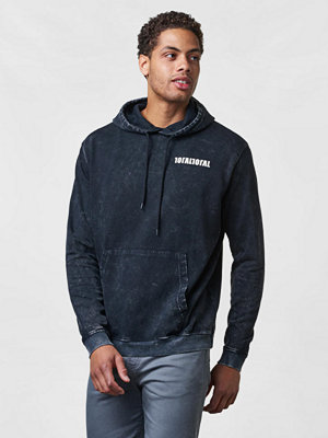 Studio Total Oliver Washed Hoodie Black