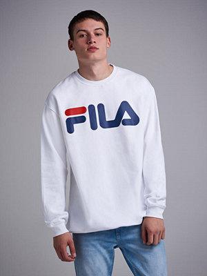 Tröjor & cardigans - Fila Classic Logo Sweat M67 Bright White
