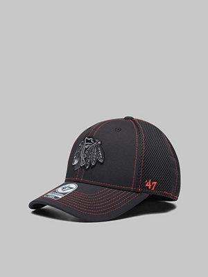 Kepsar - 47 Brand Contender NHL Chicago Blackhawks Black