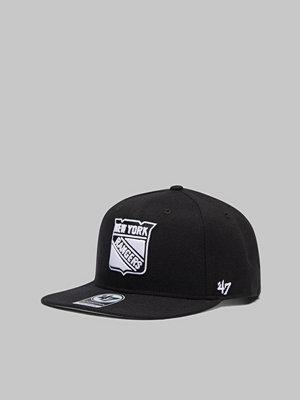Kepsar - 47 Brand Captain NHL NY Rangers Black