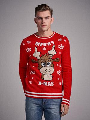 Tröjor & cardigans - Speechless Reindeer Sweater Red