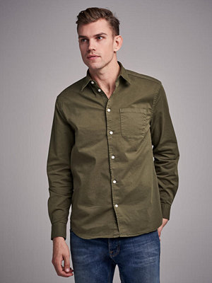 Skjortor - Whyred Mills Twill Uniform Green