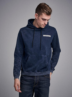 Studio Total Oliver Washed Hoodie Blue