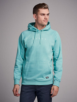 Street & luvtröjor - William Baxter Hart Hoodie Turquoise