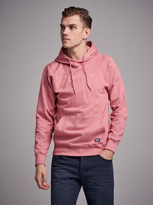 Street & luvtröjor - William Baxter Hart Hoodie Dusty Rose