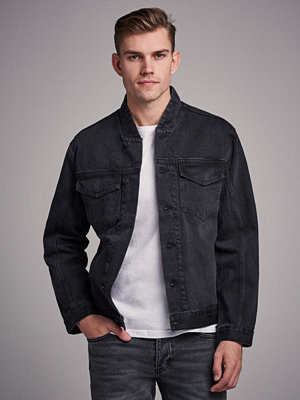 Jeansjackor - Neuw Relaxed Bomber Washed Black