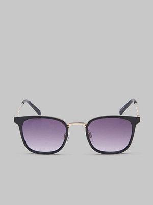Le Specs Racketeer Matte Black / Smoke Grad