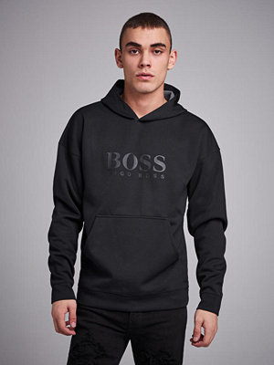 Street & luvtröjor - BOSS Fashion Sweatshirt Hoodie Black
