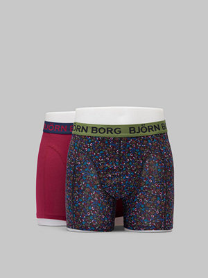 Björn Borg BB NY Tiny Flower Sammy Shorts 90651 Black Beauty