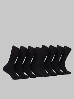 Topeco 8-pack Bamboo Socks Black