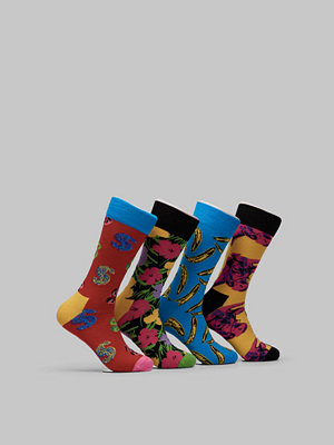 Happy Socks 4-pack Andy Warhol Gift Box 6000