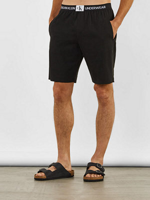 Shorts & kortbyxor - Calvin Klein Underwear Sleep Shorts Monogram 001 Black