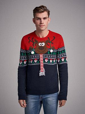 Tröjor & cardigans - Speechless Curious Reindeer Navy