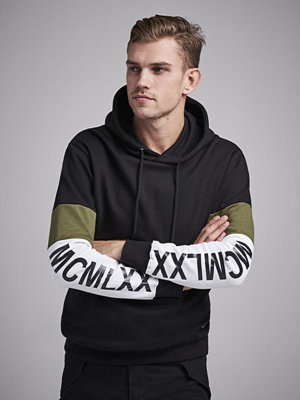 Street & luvtröjor - William Baxter Dalton sweat Hoodie Black