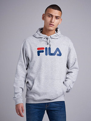 Street & luvtröjor - Fila Pure Hoody Light Grey