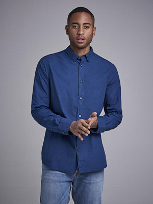 Skjortor - Filippa K Ben Washed Poplin Shirt 8130 Flag Blue
