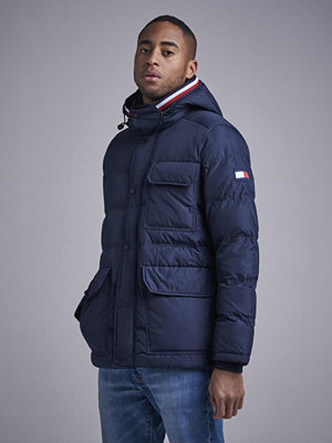 Tommy Hilfiger Tommy Down Hooded Bomber 403 Sky Captain