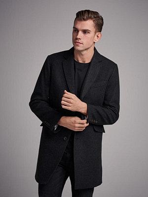 Pour Mayfair Wool Coat Dark Grey