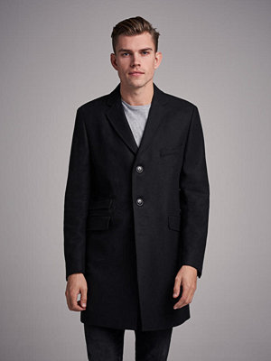 Pour Mayfair Wool Coat Black