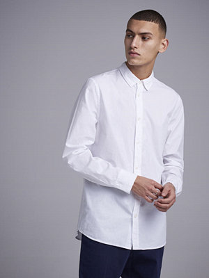 Skjortor - Filippa K Ben Washed Poplin Shirt 1009 White