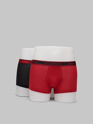 Armani 2-pack Trunk Core Logoband Black/Ruby