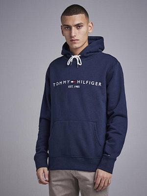 Street & luvtröjor - Tommy Hilfiger Tommy Logo Hoody 416 Navy Blazer