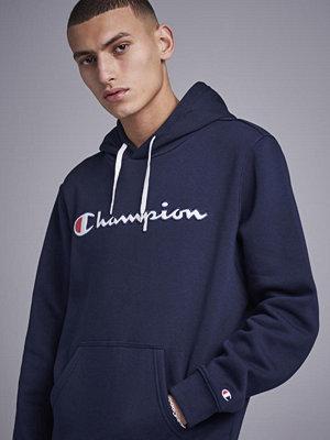 Street & luvtröjor - Champion American Classics Hooded Sweatshirt Sky Captain