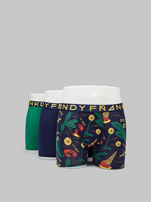 Frank Dandy 3-pack Swewaii 3.0 Boxer Navy/Green