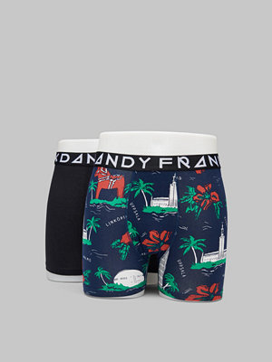 Frank Dandy 2-pack Swewaii Boxer Black/Print