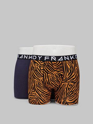 Frank Dandy 2-pack Tiger Boxer Blue/Print