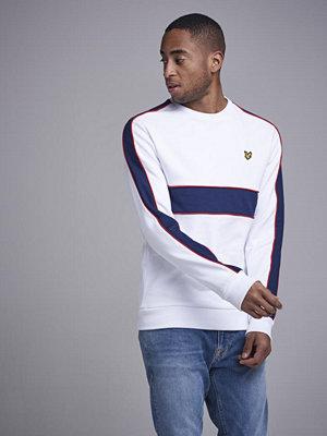 Lyle & Scott Cut & Sew Sweatshirt 626 White